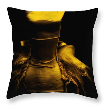 Possessed Throw Pillow by Lauren Leigh Hunter Fine Art Photography
