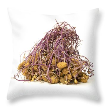 Potato Throw Pillow by Bernard Jaubert