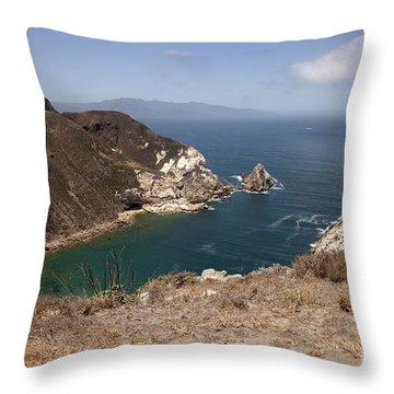 Potato Harbor Throw Pillow by Amanda Barcon