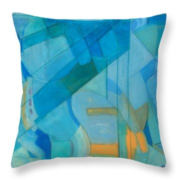 Power Grid Remastered Throw Pillow by Danielle Nelisse