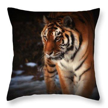 Precious Throw Pillow by Karol Livote