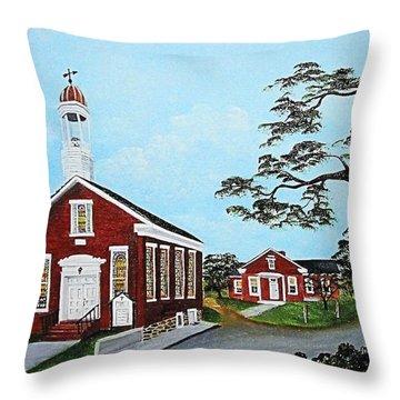 Precious Memories Throw Pillow by Darlene Prowell