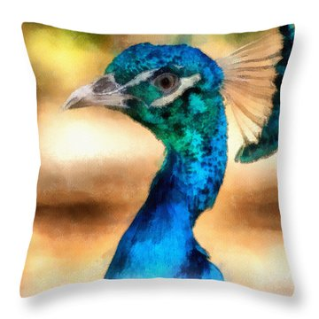 Pride Throw Pillow by Ayse Deniz