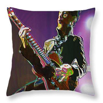 Prince Throw Pillow by  Fli Art