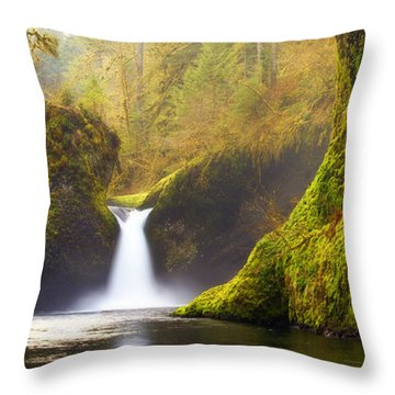 Punchbowl Pano Throw Pillow by Darren  White