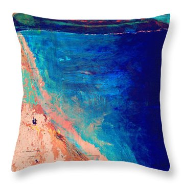 Pv Abstract Throw Pillow by Jamie Frier
