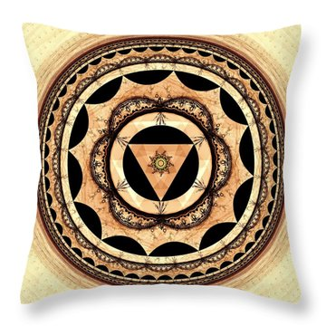 Radiant Affection Throw Pillow by Anastasiya Malakhova