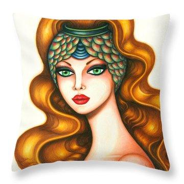 Radiant Throw Pillow by Tara  Shalton