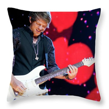 Rascal Flatts 5180 Throw Pillow by Timothy Bischoff