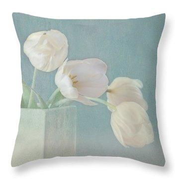 Ray Of Beauty Throw Pillow by Kim Hojnacki
