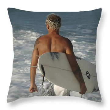 Ready To Go Throw Pillow by Bob Christopher