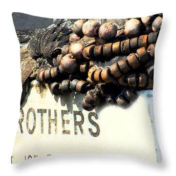 Ready To Go Throw Pillow by Debra Forand