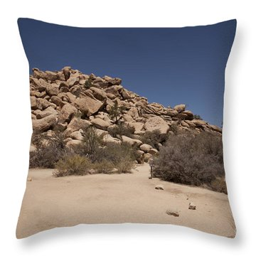 Real  Throw Pillow by Amanda Barcon