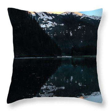 Reflection Throw Pillow by Robert Bales