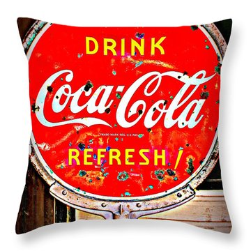 Refresh Throw Pillow by Beth Vincent
