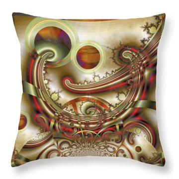 Rem Sleep Throw Pillow by Wendy J St Christopher