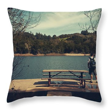 Remembering When Throw Pillow by Laurie Search