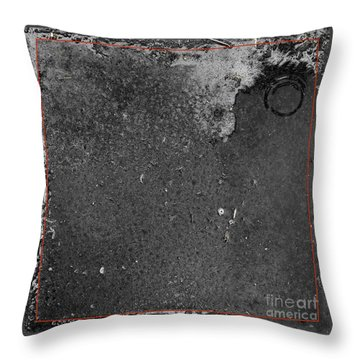 Remnants Xx Throw Pillow by Paul Davenport