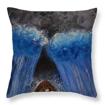 Rest In Him Throw Pillow by Cassie Sears
