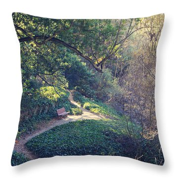 Rest Your Soul Throw Pillow by Laurie Search