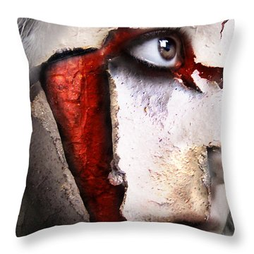 Revenant Of The Opera Throw Pillow by Robert  Adelman