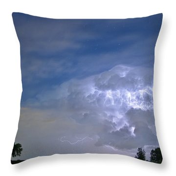 Riders On The Storm  Throw Pillow by James BO  Insogna