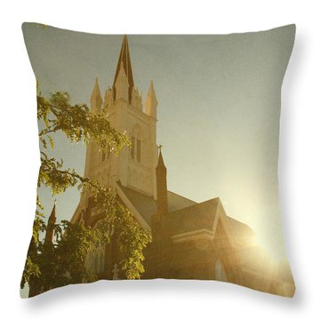 Rise Throw Pillow by Margie Hurwich