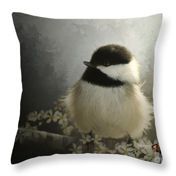 Rise N Shine Throw Pillow by Beve Brown-Clark Photography