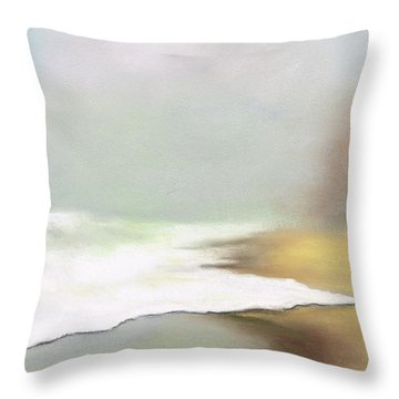 Rising Tides Throw Pillow by Frances Marino