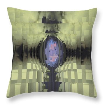 Riven Throw Pillow by Tim Allen
