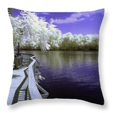 River Walk Throw Pillow by Paul W Faust -  Impressions of Light