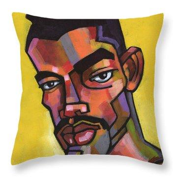 Rocco Throw Pillow by Douglas Simonson