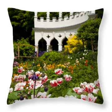 Rococo Spring Throw Pillow by Anne Gilbert