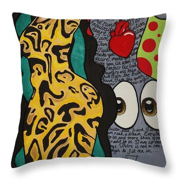 Rolling Hills Throw Pillow by Aliya Michelle