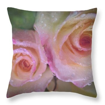 Romance 1 Throw Pillow by Shirley Sirois