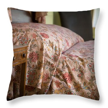 Romantic Bedroom Throw Pillow by Edward Fielding