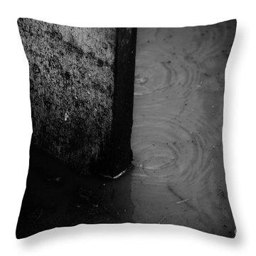 Rough Throw Pillow by Jessica Shelton