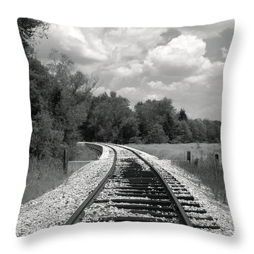 Rr X-ing Throw Pillow by Robert Frederick