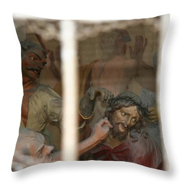 Throw Pillow featuring the photograph Sacri Monti  by Travel Pics