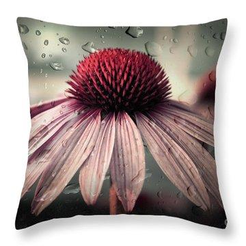 Sad Solitude Throw Pillow by Aimelle