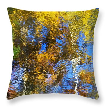 Safari Mosaic Abstract Art Throw Pillow by Christina Rollo