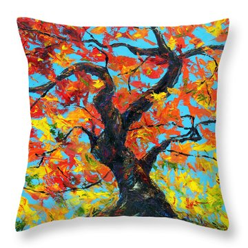 Safely Abiding Throw Pillow by Meaghan Troup