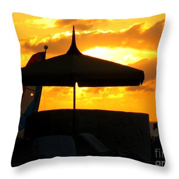 Sail Away With Me Throw Pillow by Patti Whitten