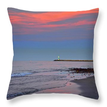 Sailors Guide Throw Pillow by Frozen in Time Fine Art Photography