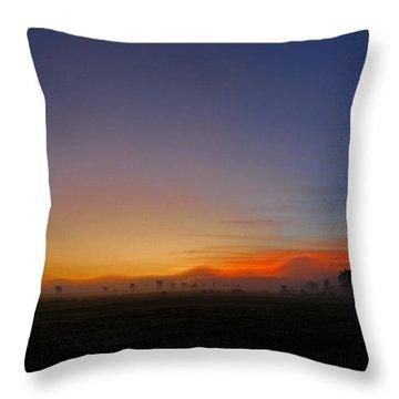Saint-lin Laurentides - Qc Throw Pillow by Juergen Weiss