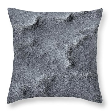 Sand Swirls Throw Pillow by Mike  Dawson