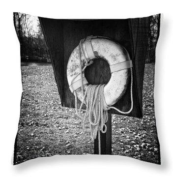 Save Me - Art Unexpected Throw Pillow by Tom Mc Nemar