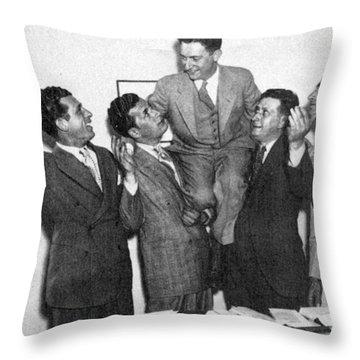 Schechter Case 1935 Throw Pillow by Granger