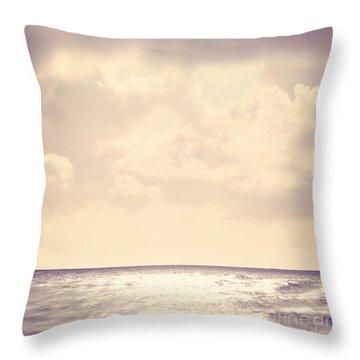 Sea Sparkle Throw Pillow by Lyn Randle