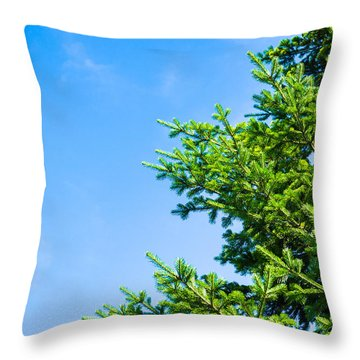 Season Greetings - Featured 3 Throw Pillow by Alexander Senin